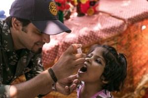 Rotary celebra histórico avance hacia un mundo libre de polio