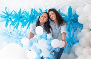¡Orgullo venezolano! Génesis Nieves e Iravid Nieves se consolidan internacionalmente en el arte con globos