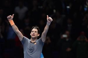 Thiem avanzó a semifinales del Masters tras superar a Djokovic en dramático partido