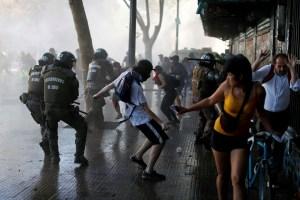 EN FOTOS: Nueva jornada de protestas violentas sacude Chile