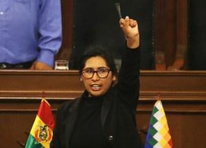 Eligen a legisladora del partido de Morales como presidenta del Senado boliviano