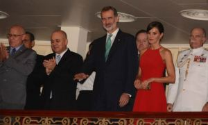 Reyes de España concluyen visita a Cuba con homenaje a caídos en guerra de independencia