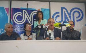 CNP: Hay suficientes razones para que los periodistas salgan a manifestar el #16Nov