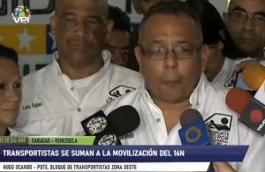 Transportistas anuncian su respaldo a Guaidó en marcha del #16Nov que marca presión a Maduro