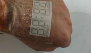 Científicos chinos crean un reloj que puedes usar en tu piel como un tatuaje (FOTO)