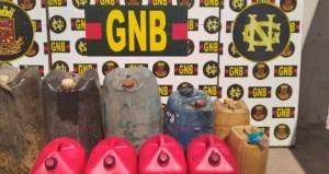 GNB decomisó 320 litros de gasolina en el estado Bolívar