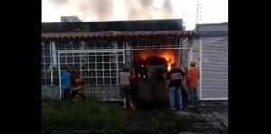 Reportan fallecimiento de un abuelo tras incendiarse su vivienda en Colinas de Vista Alegre (Video)