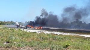 Accidente de una aeronave en Brasil deja un muerto y nueve heridos (Video)