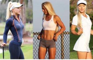 Alisa, la golfista más sexy del mundo para hacer un hoyo en uno (FOTOS)