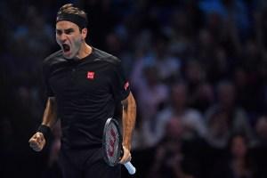 Federer se mete a semis del Masters y ayuda a Nadal a finalizar el año en la cima del ranking