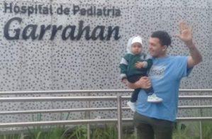 Descubre la historia de Iker, el bebé de un año que venció el cáncer tras 15 quimioterapias