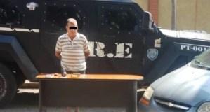 Detienen en Maracaibo a sexagenario que llevaba una granada y municiones en un carro