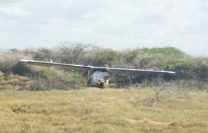 Hallaron una avioneta en una pista clandestina usada por el narcotráfico en Falcón (Fotos)