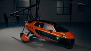 ¡WOOW! El primer auto volador del mundo que será comercializado a partir del 2021 (Fotos y Video)