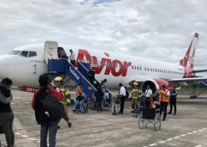 En VIDEO: Avión de Avior aterrizó de emergencia en Perú por despresurización de cabina