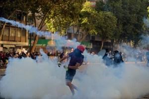 Miles protestan luego de 50 días de iniciado el estallido social en Chile