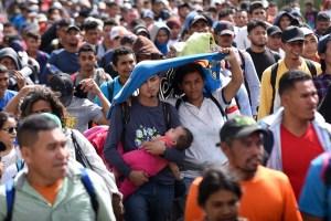 México ha retenido más de dos mil centroamericanos en su frontera sur