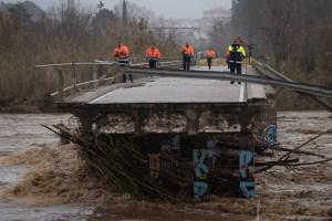 Ascendieron a seis las víctimas por el fuerte temporal Gloria en España (Fotos)