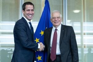 """Borrell y Guaidó piden """"enfoque común"""" para un proceso político en Venezuela"""