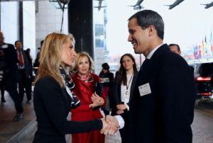 Vicepresidenta del Parlamento Europeo reiteró apoyo firme a Guaidó tras su visita