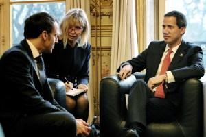 Las FOTOS de Guaidó durante su reunión con Macron, presidente de Francia