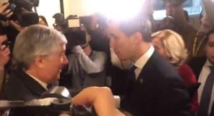 En Video: Así fue recibido Juan Guaidó en el Parlamento Europeo