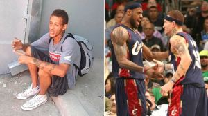 De jugar en la NBA con LeBron James a vivir como indigente tras regalar todos sus millones