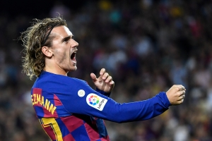 Griezmann salvó al Barcelona en Copa del Rey ante el modesto Ibiza