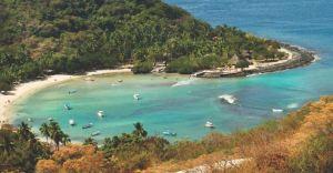 Las playas turísticas de México fueron cerradas ante la contingencia por coronavirus