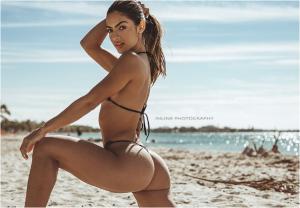 """No sacarás la palabra """"nalgas"""" de tu mente al ver la retaguardia de la cubanita más sexy de Instagram (FOTOS)"""