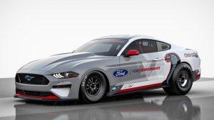 Ford presentó el Mustang Cobra Jet 1400, un auto de aceleración eléctrico (Fotos y video)