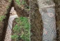 Arqueólogos italianos descubrieron en Verona un mosaico de la antigua Roma en perfecto estado (FOTOS)