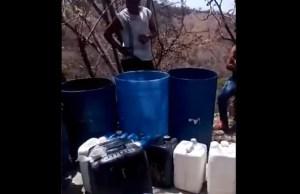 "Habitantes en Charallave ""pasan las de Caín"" para poder obtener agua #28May (Video)"