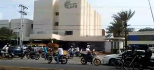 GNB corretea a los motorizados que protestan por combustible en Margarita este #28May
