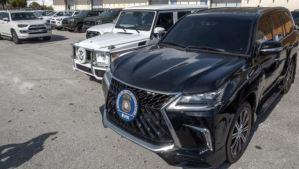 El valor estimado de los vehículos del régimen chavista confiscados en EEUU