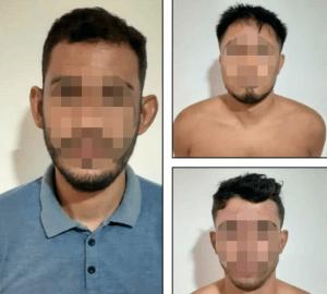 Detienen a tres jóvenes por su presunta vinculación en la quema de la patrulla de la GNB en Río Tocuyo (Foto)