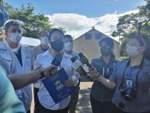 """Protección Civil Táchira instaló el primer """"Hospital de Campaña"""" en el país (Fotos)"""