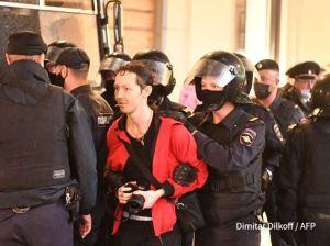 Represión en Rusia: Más de 100 arrestos tras una manifestación contra Putin