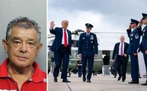 Un anciano fue detenido por disparar un arma durante visita de Trump a Miami
