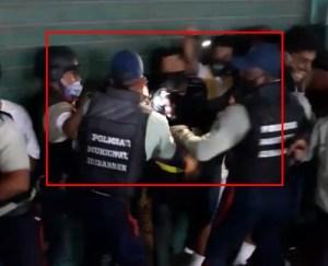 Abuso de poder en Lara: Policía realizó desalojo ilegal en el mercado mayorista de Barquisimeto (VIDEO)