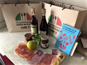Cavenit ofreció una lúdica tarde con aperitivos y entremeses italianos