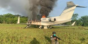 EN VIDEO: Así las Fuerzas Aéreas de Colombia y Guatemala neutralizaron narcoavioneta que partió de Venezuela