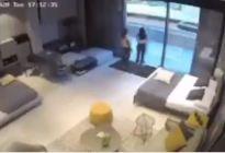 Cámara de seguridad de una tienda evidenció la potencia de la temible explosión en Beirut (Video)