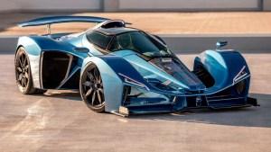 Legendaria marca francesa regresó tras 70 años con un auto híbrido basado en un Fórmula 1 (Fotos)
