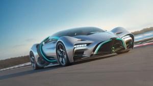 Hyperion presentó su nuevo auto con propulsión de hidrógeno capaz de alcanzar los 356 km/h (Video)