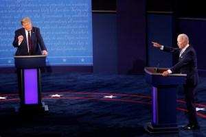 Los ataques y desacuerdos marcaron el primer debate presidencial entre Trump y Biden