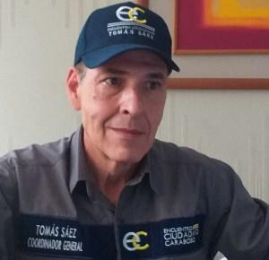 Tomás Sáez : No descansaremos hasta lograr la libertad de Venezuela