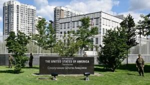Matan a golpes a una empleada de la Embajada de EEUU en Ucrania