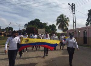 Docentes protestan en Anzoátegui por mejoras salariales este #29Sep