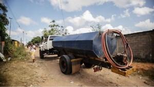 Escasez de agua por tubería obliga a pagar entre 5 y 15 dólares para llenar un tanque pequeño en Guayana